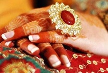 Bridal Kundan Rings / Adorn your hands with kundan jewellery  Kundan rings  bridal rings / by BollywoodShaadis.com