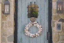 Front Doors... / Come on in!  Take a look in or out... / by Kathy Kiddy