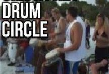 """Drums & Drum Circles / The modern Drum Circle as we know of it in today's context is considered an American phenomenon, as the respected purveyor of the craft. Communities around the country and across the globe are catching on to this, """"New Age"""" trend, as it sometimes is erroneously referred to. But can we really lay claim to an attribute of society which in one sense supports the maxim that, """"It takes a village""""? In a drum circle everyone is acting as one. The ME becomes the WE in resonating Oneness. / by CD CREATIVE COMMUNICATIONS"""