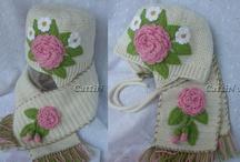 Crochet Scarfs, Hats, headwarmers & Gloves / by Jeannette Ulloa
