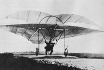 AVION - EARLY DAYS / The first steps into the world of powered flight.  1900-1920.  / by Marc Bee