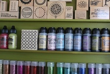 Stamp It Here..... / wonderful craft room designs and great storage ideas / by Nancy