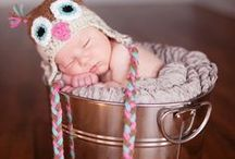 Crochet Baby Hats, Headbands and Sets / ♥ I Love Crocheting For New Babies! ♥ / by Claudia Womack ❀