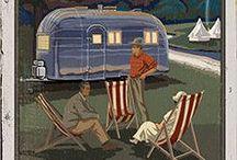 RV's / CAMPER VANS / CARAVANS / motorhomes, camper vans, trailer homes, caravans etc. / by Ray Stafford
