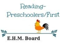 Reading- Preschoolers/First / Ideas & Resources for helping your child succeed and enjoy reading.  One of the five strands for Language Arts.  / by Jill {Enchanted Homeschooling Mom}
