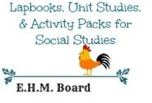 Lapbooks, Unit Studies, & Activity Packs for Social Studies / Resources, activities, printables, and activity packs to help with making social studies fun!  Great resources for unit reviews as well.  / by Jill {Enchanted Homeschooling Mom}