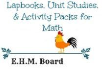 Lapbooks, Unit Studies, & Activity Packs for Math / Resources, activities, printables, and activity packs to help with making Math fun!  Great resources for unit reviews as well.  / by Jill {Enchanted Homeschooling Mom}