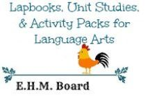 Lapbooks, Unit Studies, & Activity Packs for Language Arts / Resources, activities, printables, and activity packs to help with making Language Arts fun!  Great resources for unit reviews as well.  / by Jill {Enchanted Homeschooling Mom}