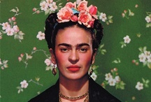 """Frida Kahlo / """"Feet, why do I need them if I have wings to fly?"""" ~ Frida Kahlo / by Vanessa Knijn"""
