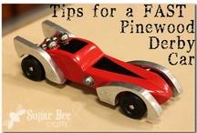 Pinewood Derby Car Inspiration / by Renee Gillot Zieglmeier