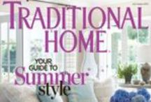 Traditional Home Covers / by Traditional Home