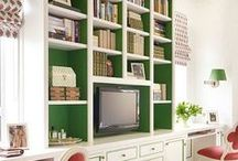 Offices & Libraries / by Traditional Home