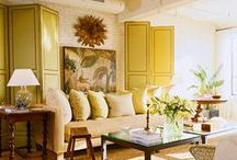 Palette/Sunny Yellows / by Traditional Home