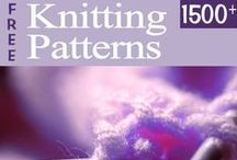 Great Free Knitting Patterns / by AllCrafts.net - The Free Crafts Network