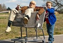 """Jackass Presents: Bad Grandpa / Johnny Knoxville and Jackson Nicholl star in """"Jackass Presents: Bad Grandpa"""". Experience the most insane hidden camera road trip ever in theaters October 25th! / by Paramount Pictures"""