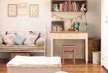 Interiors: kid's world / Idee per arredare la camera dei bambini / by Angela Millan Garcia