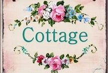Cottage Love / by Janet Cotto