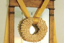 wreaths holidays and everyday / by Brooke Nelson-Bartholomew