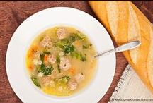 Soup Recipes / Recipes for soups from MyGourmetConnection and our favorite food bloggers, magazines and brands. / by MyGourmetConnection