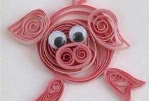 ART-ASAP 2014 paper quilling / by Jan Yinger