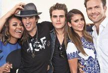 I love The Vampire Diaries Show / Paul.Ian .Nina & The Casts / by Tara Hanscom