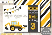 Jared is turning 1! / Construction birthday party / by ßea Quirarte