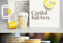 Restaurant Branding / I am currently working with multiple restaurants as my clients so I thought I will start collecting some inspiration :)   / by Amrit Pal Singh