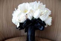 Black & White Weddings / Black & White wedding flowers, bouquets, centerpiece, reception, ceremony / by Fleurs De France