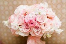 Soft Pink & Blush Weddings / soft pink, blush wedding flowers, bouquets, centerpieces, receptions, ceremonies / by Fleurs De France