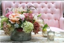 Rustic Elegance Weddings / Winery, Vineyard, natural, organic, rustic wedding floral & event design. Sonoma, Napa Valley, bouquets, centerpieces, ceremony, reception flowers / by Fleurs De France