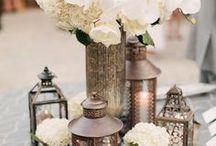 Containers - Rentals - Props / Wedding floral & Decor Rentals available for your event with Fleurs de France. More photos on our Web Site at www.fleursfrance.com / by Fleurs De France