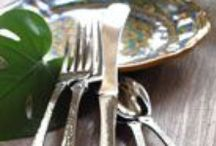 table settings / by Jessica Tardif