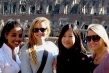 Cottey International Trip!  / Each year Cottey takes their second year class to a European city on spring break at no additional expense to the student. In fact, our trip was recently voted #1 student perk! / by Cottey College