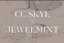 CC Skye x JewelMint / An exclusive collection fully loaded with spikes, mixed metallic, and rocker attitude! Shop it now-> http://jmnt.co/18H5XUV  / by JewelMint