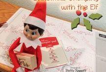 Elf on a Shelf Christmas ideas / the antics of Carlito, our Bennett family Elf on a Shelf! / by Patty Bennett