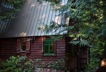 Cabin Fever / All things Log Cabins / by Marcia Combs