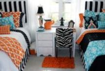 Dorm Room Bedding / Décor 2 Ur Door 2014 Dorm Room Bedding Choose a designer bed in a bag or design your own from 100's of fab fabrics! We'll take your dorm from drab to fab! Order now to avoid the rush! / by Decor 2 Ur Door