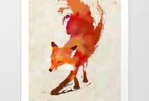 foxy things / by Lori Yates | Foxes Love Lemons
