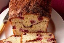 Sweet Breads, Rolls, Muffins & Donuts / by Chellene Morrison