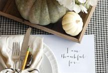 Thanksgiving Tablescapes / by WallPops Wall Decals
