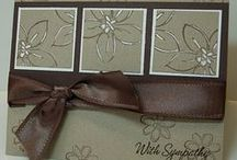 Stampin Cards / by Virginia Deveau