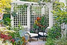 Dream home - outdoor areas and structures / by Amy Cutting