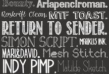 Font-astic! / by Kristen Black