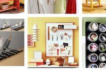 Organization Ideas / by Kristen Black