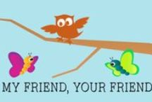 April 2014 (My Friend, Your Friend) / by First Look