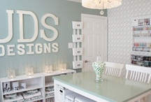 Craft spaces & Storage / by Mandy Stacey