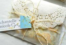 Gift wrapping / by Mandy Stacey