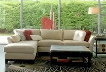 Bold and Beautiful– Sinclair Room Group  / Vibrant reds and calming browns strike a delicious contrast in our Sinclair Room Group. As your gaze shifts from a clean-lined sectional to a rustic wooden ottoman, it hits you: at La-Z-Boy, recliners really are only the beginning. Take a look around, and if you see something you like, pin away! We know there's plenty to love in the striking yet serene Sinclair.  / by La-Z-Boy Inc.