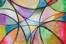 Kids Art - Pastel Projects / by Teach Kids Art