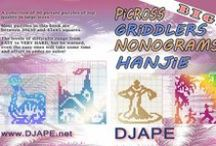 Griddlers / Griddlers, Nonograms, Hanjie, Picros, Picture puzzles, Pic-a-pix... you name it!  Books and puzzles / by Djape